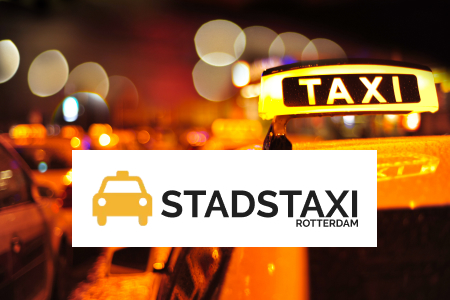 Goedkope vliegveldtaxi Delft naar Rotterdam Airport v.a. €22